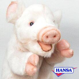 HANSA ハンサ ぬいぐるみ7339 ハンドパペット ブタ PIG PUPPET