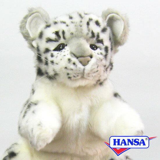 HANSA ハンサ ぬいぐるみ7502 ハンドパペット ユキヒョウ SNOW LEOPARD PUPPET
