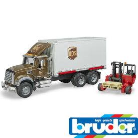 bruder ブルーダー プロシリーズ 02828 MACK UPS & フォークリフト