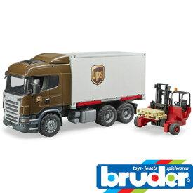 bruder ブルーダー プロシリーズ 03581 Scania UPS&フォークリフト