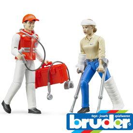 Bruder(ブルーダー)社 ProSeries(プロシリーズ) 62710 救急セット(フィギュア付き)