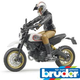 Bruder(ブルーダー)社 ProSeries(プロシリーズ) 63051 Ducati スクランブラーデザートスレッド