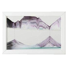 【KB collection オーストリア製】 サンドピクチャー ホライゾンギャラリー ホワイト 14×21×3cm