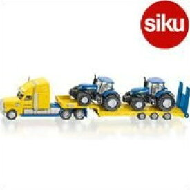 <ボーネルンド> Siku(ジク)社輸入ミニカー1805 Truck with new holland tracks