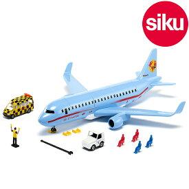 <ボーネルンド> Siku(ジク)社輸入ミニカー5402 siku world ジクワールド 飛行機 commercial aircraft with accessories