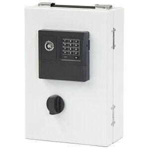 【送料無料】[エーコー] カギ管理 ボックス 25本 EKB-25ET 壁掛け可能 テンキー式 幅218×奥行135×高339mm EIKO 鍵保管 キーボックス カギボックス 鍵管理 鍵保管 セキュリティボックス セーフ 保管