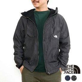[送料無料][正規商品][送料無料]【THE NORTH FACE】2021春夏 ザ・ノースフェイス Nylon Denim Compact Jacket ナイロンデニムコンパクトジャケット(メンズ) ジャケット アウター 黒 ブラック ネイビー デニム インディゴ