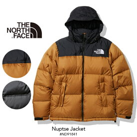 [正規取扱品] [送料無料]【THE NORTH FACE】2021秋冬 ザ・ノースフェイス Nuptse Jacket ヌプシジャケット(メンズ) ND91841 ナイロン ダウン ダウンジャケット ヌプシ ブラック 黒 ブラウン