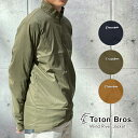 【Teton Bros.】ティートンブロス Wind River Jacket (Men) ウインドリバージャケット(メンズ) 軽量 ソフトシェル ナイロン 防風 撥水 カーキ ブラウン ブラック 黒