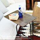 サイドテーブル 【アーロン】 END-222BR (オーク) 木製 【ソファサイドテーブル】木製テーブル