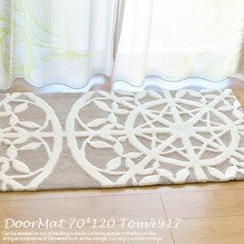 玄関マット TOM4917 70cm×120cm 東リ 玄関マット 室内 おしゃれ かわいい 玄関マット モダン 北欧 洗える 高級感 風水 玄関マット 北 大きい 室内 70×120