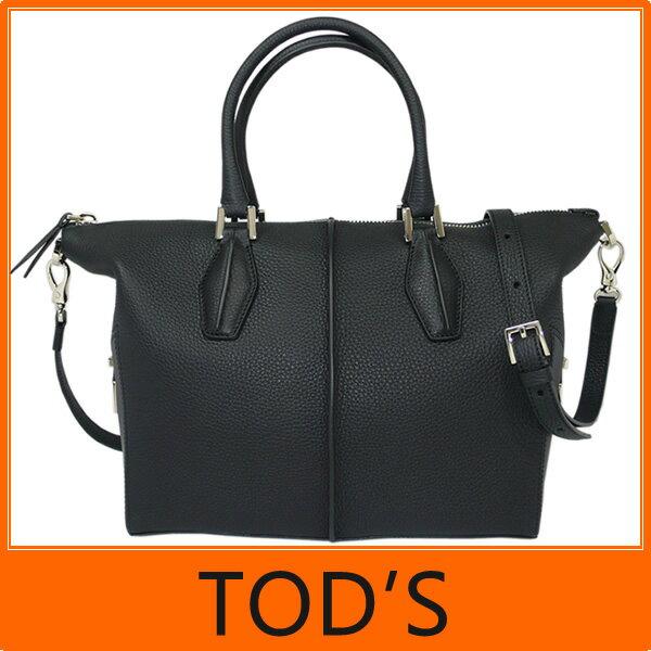 【ギフト ラッピング無料】Tod's トッズ D-Cube Small Bowler Bag Dキューブ トート バッグ A4サイズ ブラック XBWALRBM202 8FR B999 【楽ギフ_包装】【新品 未使用】