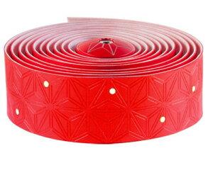 supacaz スパカズ スーパースティッキー Kush(クッシュ)バーテープ JP-RED JP 10th Anniv Color 限定カラー
