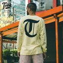 【TOISS】ロングTシャツ 【ネイマール愛用ブランド】Tロゴ| イエロー