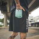 【TOISS】トイス縦ロゴハーフパンツ LOGO VERTICAL | ブラック