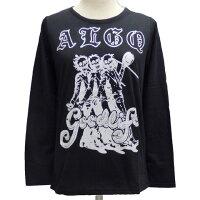 ALGONQUINSアルゴンキンロングTシャツ[スカルトリオ柄]AL25105