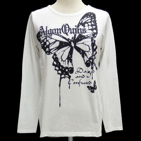 ALGONQUINSアルゴンキン ロングTシャツ[ バタフライ柄 ]AL25103
