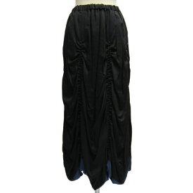 BLACK PEACE NOWブラックピースナウ シャーリングロングスカートBPN418250【送料無料】