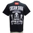CREAMSODAクリームソーダ CS UNITED TシャツPD16T-04