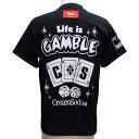 CREAMSODAクリームソーダ CS Life is GAMBLE TシャツPD16T-10