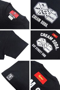CREAMSODAクリームソーダCSダイスTシャツPD21T-04