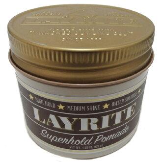 LAYRITE发蜡[ SUPER HOLD ](附带粘纸)LAY-2/LAY-4