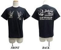 JOHNNYKOOLジョニークール半袖Tシャツ[ロックンロール・スワロー]JK-8152T