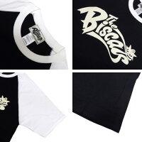 TheBiscats/ラグランTシャツ[ロゴ]BIS-009