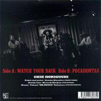 CHIEHORIGUCHI/WATCHYOURBACK(7inch)