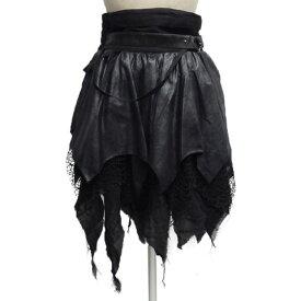 SEXPOTセックスポット BLACK CROW BONDAGE スカートSC01113-101【送料無料】