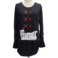 SEXPOTセックスポットシャーリングロングTシャツ[罰罰罰]SA84959-10102/