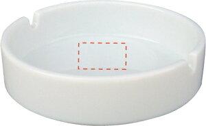 【4寸丸灰皿】ノベルティ/名入れ/販促品/粗品 卸売り/見積もり ライター・灰皿