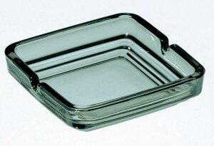【灰皿(国産) 黒透明】販促品/粗品/名入れ/ノベルティ まとめ買い/オリジナル対応 ライター・灰皿