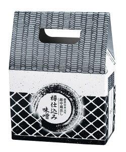 【3万円以上送料無料】一般的な食品カテゴリの越中蔵出し樽仕込み味噌1kg お返し/ご来場/お礼