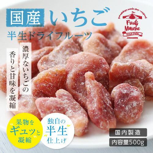 【国産】長野・信州産ドライフルーツ いちご 500g 大容量 お徳用 ご自宅用 業務用 プレゼントにも