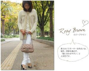【訳ありアウトレット品】本革キルティングチェーンバッグ【Betty】ぷっくりキルティングがかわいい!