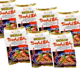 【長崎中華街 蘇州林】[冷凍具入]ちゃんぽん7食
