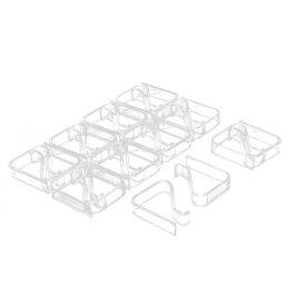 ソウテン テーブルクロスクリップ テーブルクロス止め クリップ クランプ ホルダー プラスチック製 2-3.5cm 20個入り