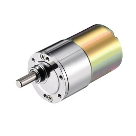 ソウテン ギアボックスモーター 金属 電子部品 DC 電気モーター 12V 2RPM 1個入り