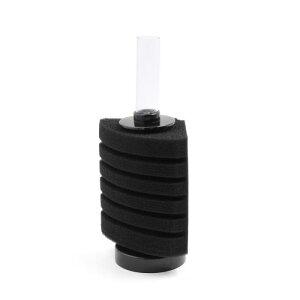 ソウテン 水槽用スポンジフィルター 生化学スポン ブラック シリンダー 80L / 10GAL水槽用