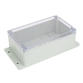 uxcell ジャンクションボックス 240mmx120mmx75mm ABSプラスチック材質 密閉電気ボックス