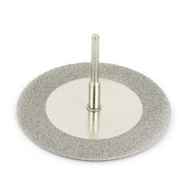 uxcell ダイヤモンド研削ディスク 3mm心棒付き ロータリーカットオフ 砥石 60mm直径