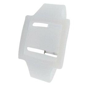 ソウテン アームバンドケース スポーツスタイル ホワイト シリコン リストバンド iPod Nano 6のため