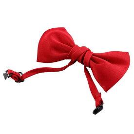 uxcell 犬猫用ネクタイ 首輪 蝶結び飾り ネックレス サイズ調節可能 レッド