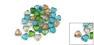 uxcell小石ビーズストーン人工石装飾石水族館魚タンクガラス500g植物ポットストーン40個入り