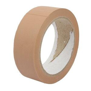 ソウテン 接着テープ PVC ブラウン シーリングテープ 幅35mm 長さ22m 床テープ ガムテープ 1個入り