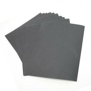 ソウテン 研磨紙 紙やすり 炭化珪素砥製 エレクトロコーティング 防水 サンドペーパーシート 2000Cw 10個入