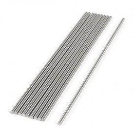 ソウテン uxcell 丸棒旋盤ツール タングステン鋼 グレー 安定性能 CNC旋盤棒 軽量鉄銅アルミニウムの彫刻 10個入り