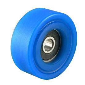 ソウテン uxcell ベアリングプーリー ナイロンベアリングローラー コンベヤホイール 6x35x14mm ブルー