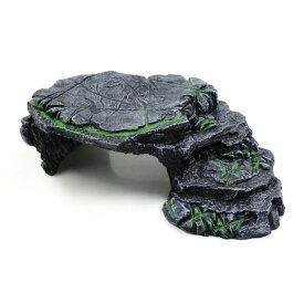ソウテン タートルハット 樹脂 人工造石 爬虫類 アクアインテリア 1個入り